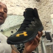 """Dwayne """"The Rock"""" Johnson Introduces His First Under Armour Signature Sneaker"""