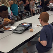 FSU's Travis Rudolph Sits Down For Lunch With An Autistic Boy Who Was Eating By Himself