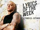Lyrics Of The Week: September 25-31