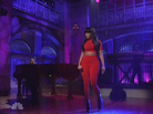 "Nicki Minaj Performs ""Bed Of Lies"" With Skylar Grey On SNL"