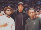 Kanye West, Jay Z, & Kendrick Lamar Attended Kobe Bryant's Final Game