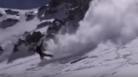 Skier Flips 7 Times And Survives Fall