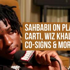 """Sahbabii: """"Pull Up Wit Ah Stick"""" Co-Signs, Young Thug Studio Session & More"""
