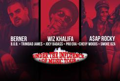 "Episode 2 Of Our Exclusive ""Under The Influence"" BTS With Berner, Wiz Khalifa, Ty$, Joey Bada$$ & More"