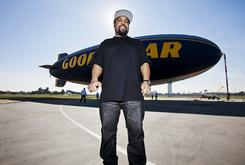 Ice Cube Helps Charity & Gets His Name On A Goodyear Blimp