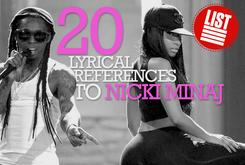 20 Lyrical References To Nicki Minaj