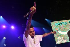 Chris Brown Gets Another Huge Tattoo On The Back Of His Head