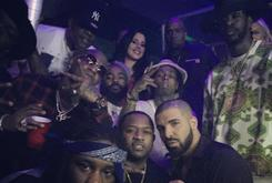 Lil Wayne & Birdman Spotted Together At Drake's NYE Party