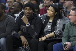 Meek Mill Was At The Sixers' Game Tonight