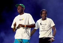 Miguel, Tyler The Creator & ASAP Ferg Guest At ASAP Rocky's Coachella Set
