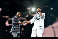 Kendrick Lamar & Dr. Dre Perform During Ice Cube's Coachella Set