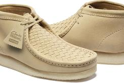 Supreme And Clarks Team Up For A Set Of Suede Wallabees