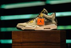 "Marcus Jordan Unveils A New ""Trophy Room"" Air Jordan 4"