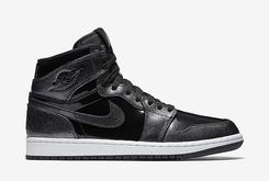 "First Look At ""Black Patent"" Air Jordan 1s"