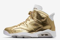 "Pinnacle ""Metallic Gold"" Air Jordan 6 Will Only Be Releasing In-Store Tomorrow"