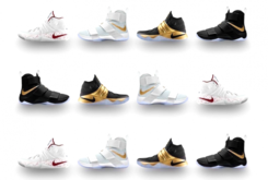 "LeBron x Kyrie ""Championship Pack"" Now Available Via NikeiD"