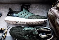 """Olive"" And ""Core Black"" Adidas Ultra Boost 3.0s Unveiled"