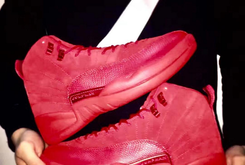 """Red Suede"" Air Jordan 12s Rumored To Release"