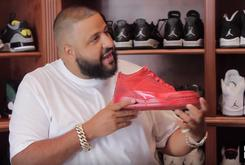 DJ Khaled Gives In Depth Tour Of His Massive Sneaker Collection