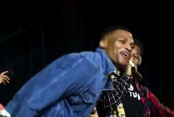 Migos Brought Russell Westbrook On Stage During Their Show In OKC