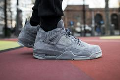 KAWS x Air Jordan 4 On-Foot Images Revealed