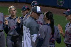 Watch Florida Softball Coach Get Into Altercation With Auburn Shortstop