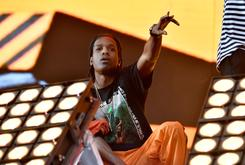 """A$AP Rocky Performs """"Please Don't Touch My Raf,"""" Brings Out XXXTENTACION At Rolling Loud"""