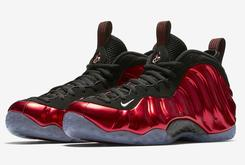 """Metallic Red"" Nike Air Foamposite One Official Images, Release Info"