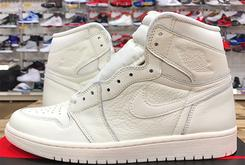 "All-White ""Premium Essentials"" Air Jordan 1 Hi OG To Release In June"