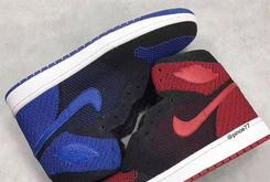 """Flyknit Air Jordan 1s Reportedly Releasing In """"Bred"""" And """"Royal"""" Colorways"""