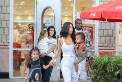 Kim Kardashian and Kanye West Celebrate North West's Birthday in Calabasas