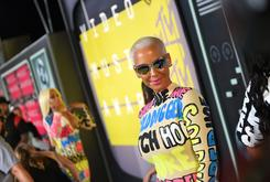 Amber Rose Shakes It During 4th Of July Party