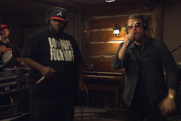 """Run The Jewels (Killer Mike & El-P) """"Live At The Log Cabin """" Video"""