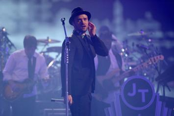 "Justin Timberlake Premieres New Song ""Only When I Walk Away"" In Las Vegas"