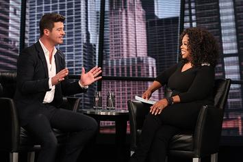 Robin Thicke On Oprah's Next Chapter