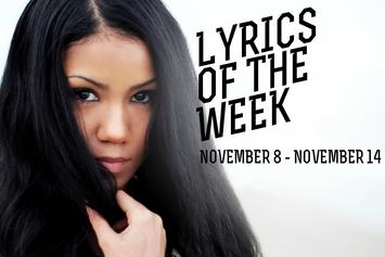 Lyrics Of The Week: November 8-14