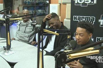 Tyrese, Luke James & Jacob Latimore On The Breakfast Club