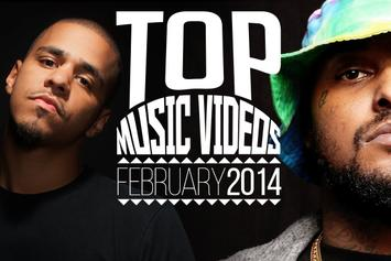 Top Music Videos Of February