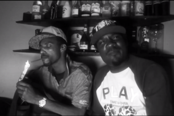 "Boldy James Feat. Peechie Green ""Come Here"" Video"