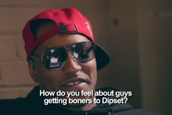 Cam'ron Responds To YouTube Comments