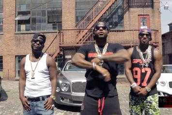 "Cam'ron Feat. Jim Jones & Hell Rell ""C.F.W.U."" Video"
