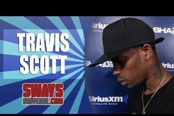 Travi$ Scott Freestyles On Sway In The Morning