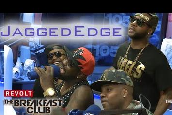 Jagged Edge On The Breakfast Club