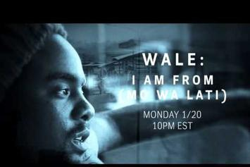 """Wale """"I Am From"""" Documentary Trailer"""