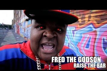 "Fred The Godson ""Raise The Bar"" Video"