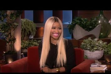 Nicki Minaj Appears On Ellen DeGeneres
