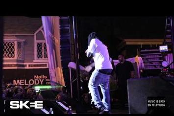 "Wale Feat. YG & DJ Skee ""Brings Out Chris Brown @ Sunset Strip Festival"" Video"