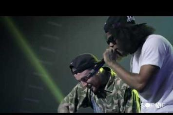 "Mac Miller Feat. Ab-Soul ""Matches (Live In NYC)"" Video"