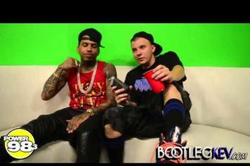 "Kid Ink ""Interview w/ Bootleg Kev: Discusses GKMC Tour, New EP & Yeezus"" Video"