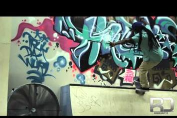 "Lil Wayne ""Skates At TRUKFIT Training Facility"" Video"